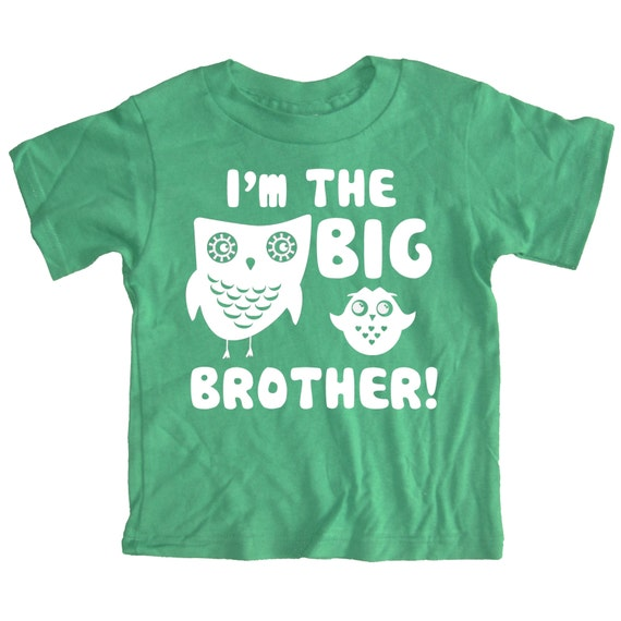 Kids I'm The BIG BROTHER T-shirt