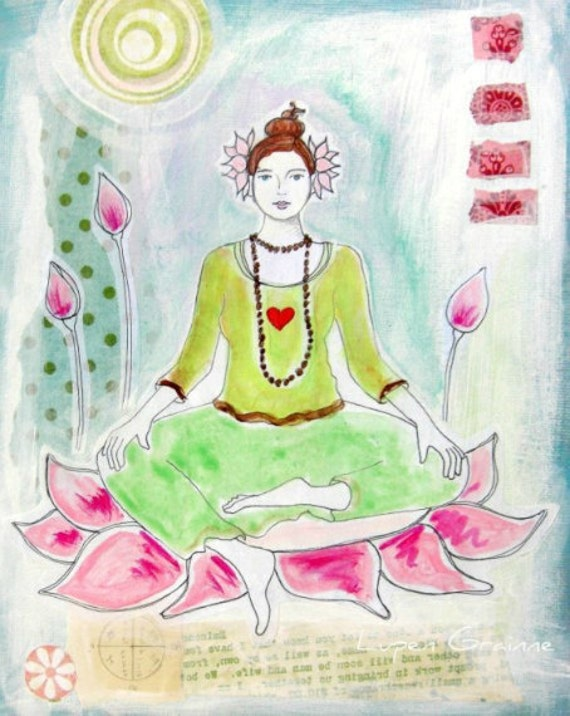 Lotus Girl | print