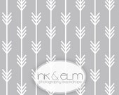 """Modern Backdrop 6ft x 6ft, Vinyl Photography Backdrop Modern Arrows Background, Geometric Arrows, Photo Booth Prop, """"Straight Shooter"""""""