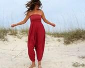 ORGANIC Love me 2 Times Harem Pants - ( light hemp and organic cotton knit ) - organic harem pants