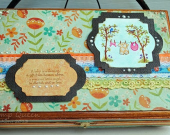 Sweet Baby -Memory book and gift box