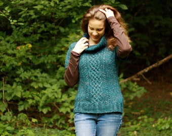 Orchard Pullover (pdf knitting pattern)