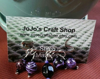 Purple Stitchmarkers