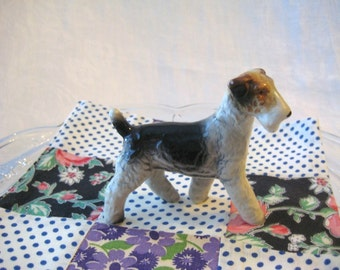 VINTAGE FOX TERRIER Figurine