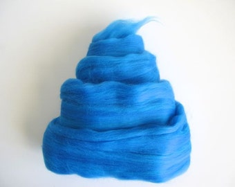 Color Fusion - 19 Micron Merino Top - Dodger Blue - 1oz