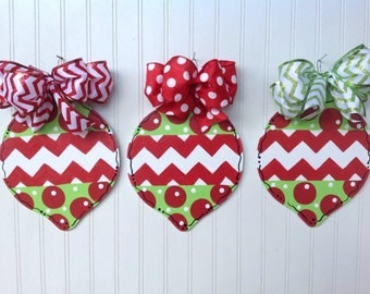 Christmas ornaments, personalized. READY TO SHIP!