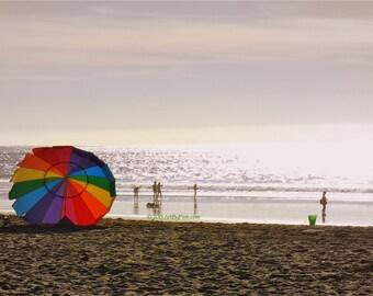 Rainbow In The Sand - fine art photography - 12x18 - print - wall art