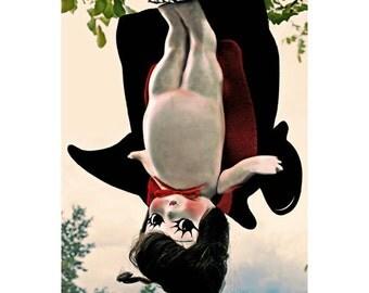 BATGIRL kewpie doll print 8 x10