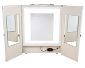 The Makeup Light Portable Vanity LED Ivory Lighted Mirror Starlet VanityGirl
