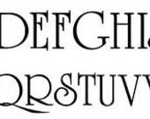 Add  Monogram Letter - University