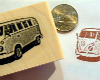 VW bus rubber stamp P53