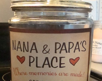 NEW NEW Design    Nana and Papa     Cookie Jars or Caddy