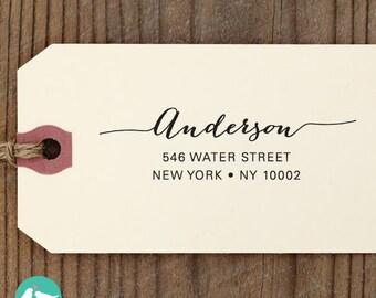 custom ADDRESS STAMP with proof from USA, Eco Friendly Self-Inking stamp, return address stamp, custom stamp, calligraphy designer stamp 78
