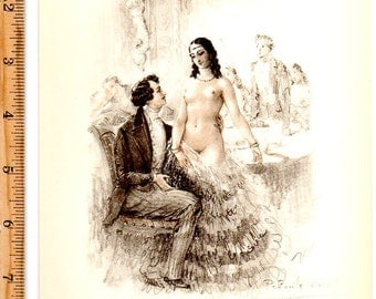 Vintage erotic dancer – Etsy