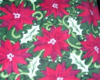 Poinsettia Blanket