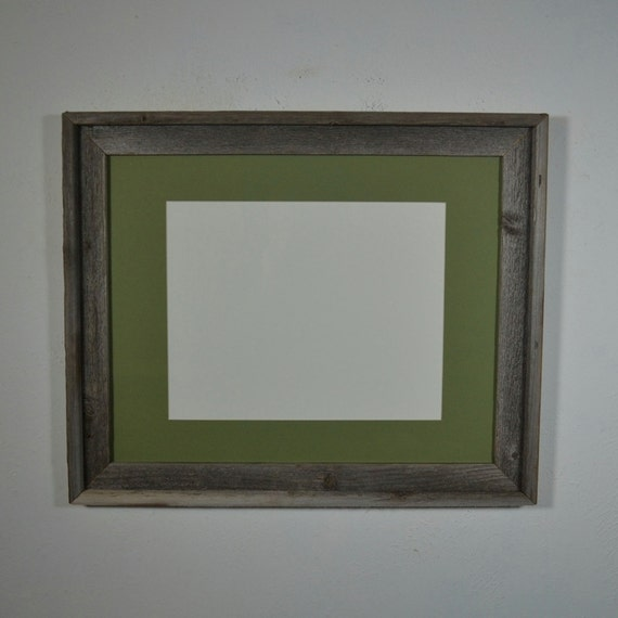 16x20 Frame With Mat For 11x14 Or 11x17 Or 12x18 Or By