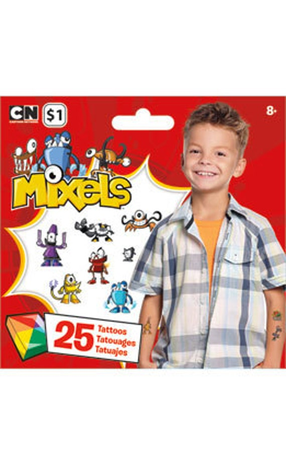 Lego Mixels Temporary Tattoos SALE Bundle Discount by ...