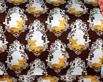 1 yard Sweet As Honey - Cherished Deer Sepia - Art Gallery Fabric