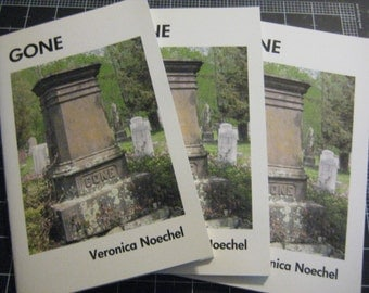 Gone, a book of poetry about loss by E.V. Noechel, Special donation event: 100% goes to GREY2K, Make my donation to Greyhound Protection!