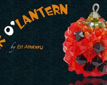Beading Pattern: Jack O Lantern