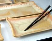 Five Dish Sushi Set in Sunburst -Made to Order