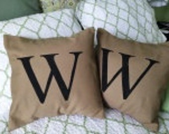 Monogram  Pillow Cover - Personalized for you