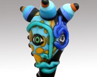 Aardvark's BRILLIANCE and BLOTTO Mask Bead