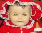 Precious Vintage Composition Baby Doll  RESERVED FOR RITA