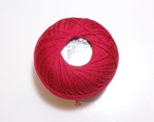 Tattting Thread, Lizbeth Size 20 Cotton Crochet Thread, Christmas Red, Color number 671, Red Thread