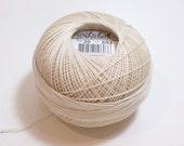 Tatting Thread, Lizbeth CottonTatting Thread, Ecru Color number 603, Ecru Crochet Thread, Choose a Size 3, 10, 20, 40, 80