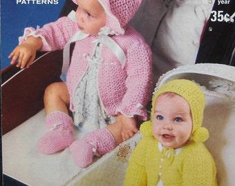 Vintage King Crochet Baby Sets Pattern