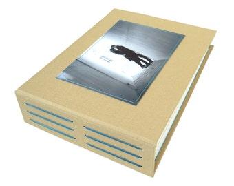 custom photo guestbook (6x8)