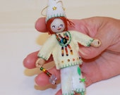 Felt Art Dolls Spring Pixies Home Decor