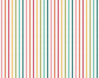 So Happy Together Multi Stripe Flannel Fabric, 1 yard