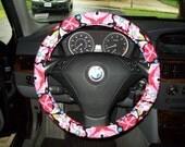 SALE Big Fun Floral Steering Wheel Cover