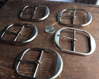 Metal Belt Buckles - (5)