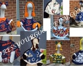 NFL Cheerleader or Player Goose Outfit by DressYourGoose