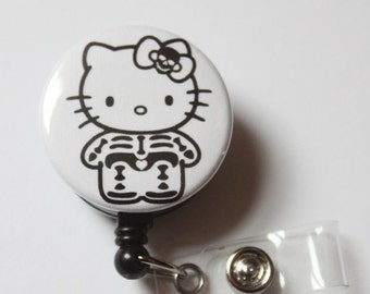 Skeleton Kitty.. BADGE REEL