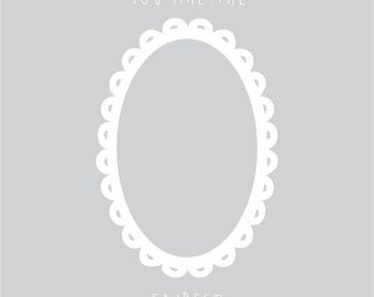 You Are The Fairest Vinyl Wall Decal for Mirrors
