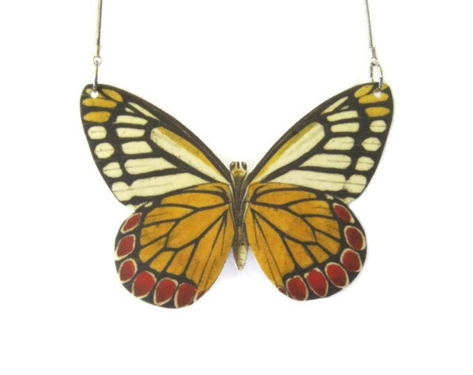 Jezebel Butterfly Pendant Necklace Large or Small Gifts for her