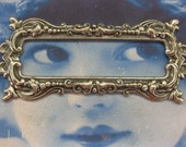 Silver Ox Plated Brass Ornate Frame Setting  26SOX x1