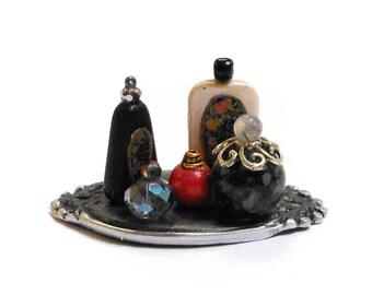 Miniature Perfume Vanity set 10