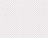 Riley Blake Designs, Swiss Dots Red on White  (C660 80) - cut options available