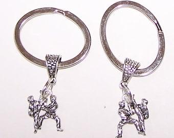 MARTIAL ARTS Keyring, Key Ring, Keychain, Key Chain