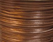 Luggage Brown Satin Rattail Cord 1mm 6 yards for Macrame Kumihimo Knotting