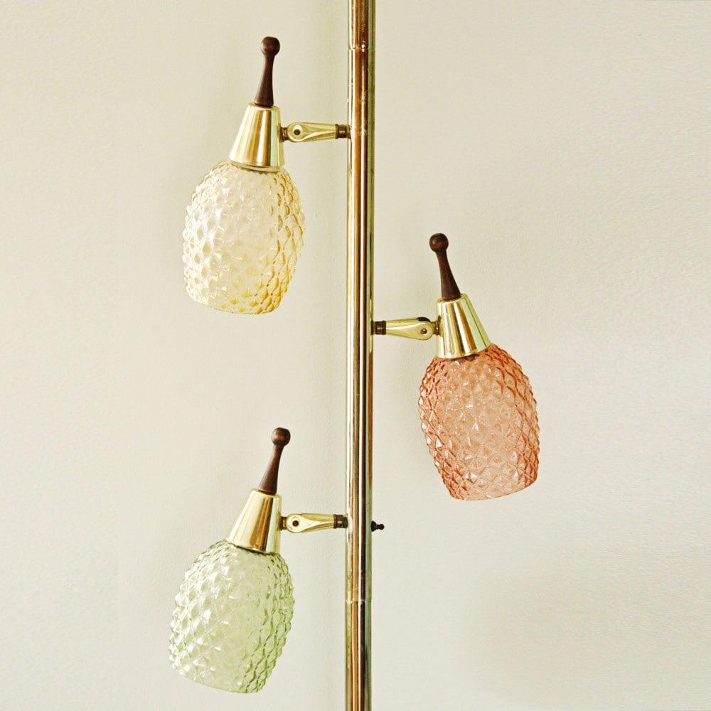 Vintage Pole Lamp Tension Lamp Floor To Ceiling Lamp