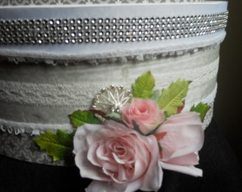Wedding Cake Box Card Holder