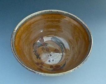 Bowl Wood Fired Stoneware 337