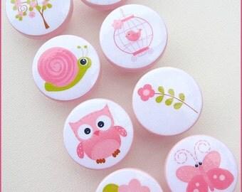 Butterfly Knobs • Drawer Knobs • Owl • Flower Knobs • Snail • Garden Knobs • Dresser Knobs • Bird Knobs