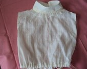 Dickie, Camisole for Victorian dresses, prairie dresses--change the look of the prairie dress  OOAK